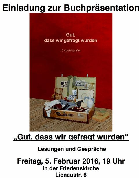Plakat-Buchveroffentlichung